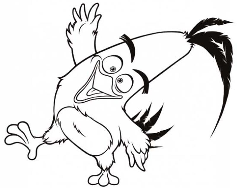 123 Angry Birds Kolorowanka 3 Kolorowanki