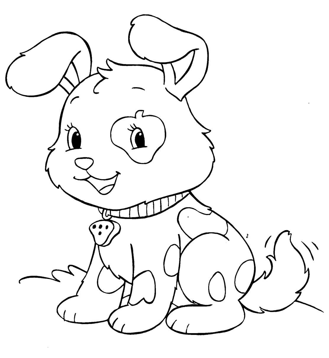 Pies Psy Kolorowanki