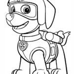 psi patrol kolorowanka 1