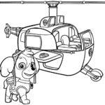 psi patrol kolorowanka 15
