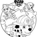 psi patrol kolorowanka 3