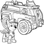 psi patrol kolorowanka 4