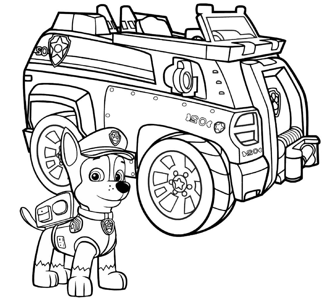 Psi Patrol Kolorowanka 4 Kolorowanki