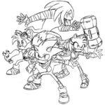 kolorowanki Sonic Boom 13