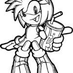 kolorowanki Sonic Boom 5