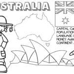 kolorowanka panstwa flagi angielski australia