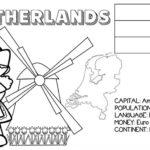 kolorowanka panstwa flagi angielski holandia