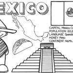 kolorowanka panstwa flagi angielski meksyk